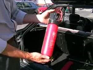 срок годности огнетушителя автомобильного