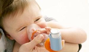 Больных бронхиальной астмой малышей